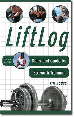 weight training diary front cover